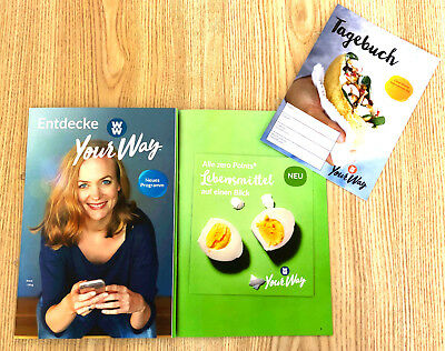 Weight Watchers Entdecke Your Way PROGRAMM 2018 ZERO SmartPoints + Einkaufsliste
