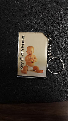 """Photo Key Chain 2X3"""" Box/24 Thick Acrylic brand new sealed packages & box"""