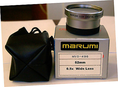 MarumI Wide Angle .5X Lens converter 52MM threads