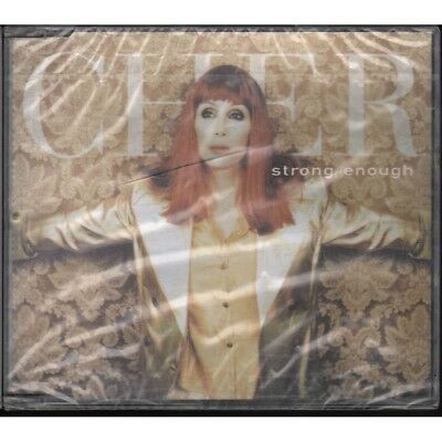 Cher Cd'S Single Strong Enough / WEA ‎WEA201CD1 Sealed 0639842662123