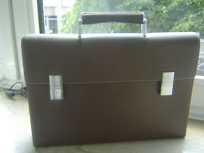 Porsche Design French Classic BriefBag FS Aktentasche braun Leder Neu
