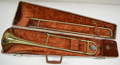 Olds A15 Ambassasor Tenor Trombone With Original Case And Olds 3 Mouthpiece
