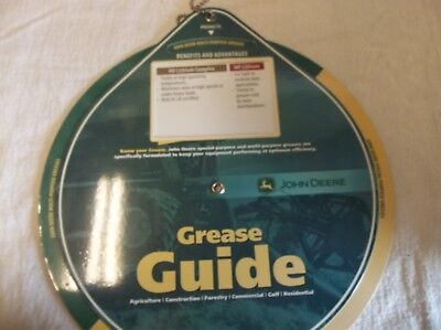 John Deere Grease Applications And Conditions Guide