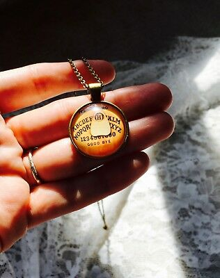Mystic Powers Ouija Necklace Psychic Paranormal Very Active Haunted Wicca