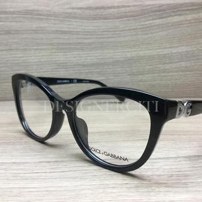 03c4478b8e89 AUTHENTIC DOLCE   Gabbana Eyeglasses DG3280 501 Black Frames 54mm Rx ...