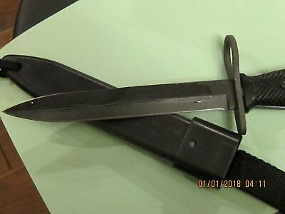 Genuine Vietnam Era Ontario bayonet with scabbard New in original package