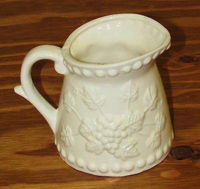 Vintage Napcoware Japan White Ceramic Measuring Cup / Creamer One Cup