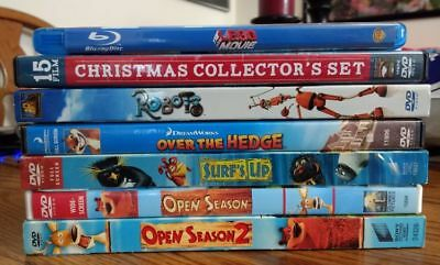 Lot of 7 children's movies (like new)