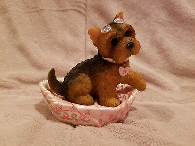 """Hamilton Collection: Paws for the Cause """"Hope 'Bow-wow' and Forever"""" Yorkie"""
