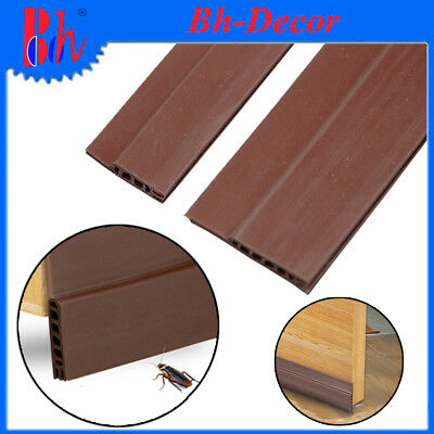 Durable Self Adhesive Silicone Rubber Door Bottom Seal Sealing Weather Stripping