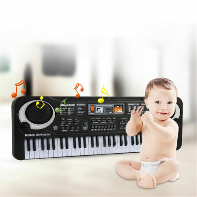 61 Keys Digital Music Electronic Keyboard Electric Piano Organ Instrument Child