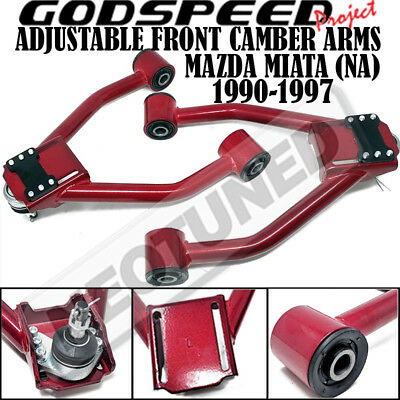 GSP God Speed Adjustable Front Upper Camber Control Arms for Mazda 6 03-08 New