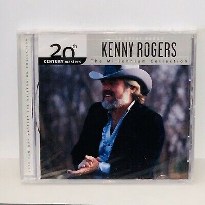 Factory Sealed The Millennium Collection: The Best of Kenny Rogers CD