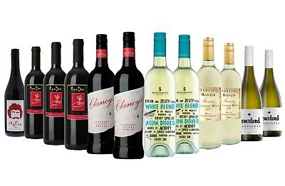 Winter Special Red Wine & White Mixed - 12 Pack Free Shipping 5-Star Wines