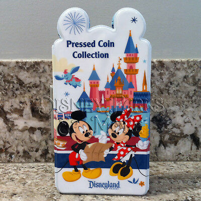 Disneyland Resort Mickey & Friends Elongated/Pressed Penny Coin Collection Book