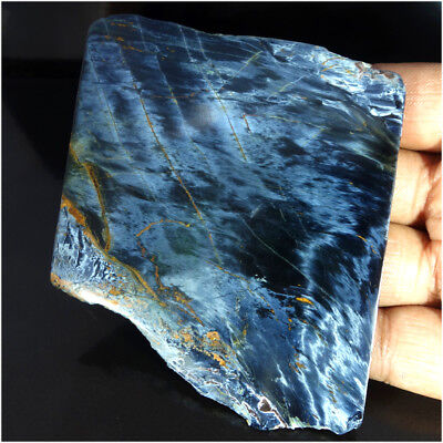 Friday Special Natural Chatoyant Pietersite Rough Slab /Petersite Raw Material