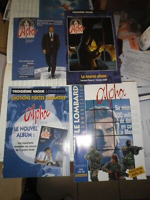 alpha jigounov lot documents divers presse etc promo