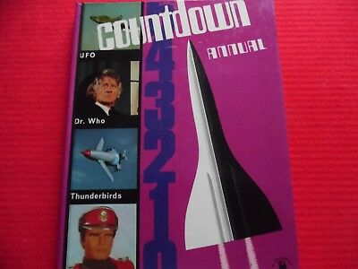 countdown annual 1971 featuring dr who the persuaders ect