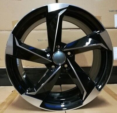 """18"""" Focus RS Style Alloy Wheels Fit Ford Focus Kuga Mondeo Transit Connect etc"""