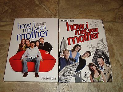 How I Met Your Mother DVD Seasons 1 & 2 - 3 Disc Sets