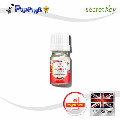 SECRET KEY Lady's Secret Rose Oil 4ml For Sensitive Zone Aromatherapy