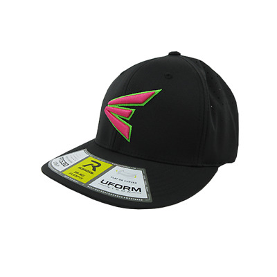 Easton Hat by Richardson (PTS30) All black/Neon Green/Pink LG/XL