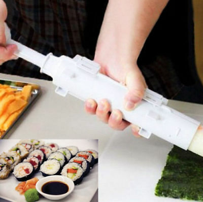 Sushi Bazooka Tool Sushi Roll Maker Kitchen Appliance Gourmet Cooking Tube&Mold