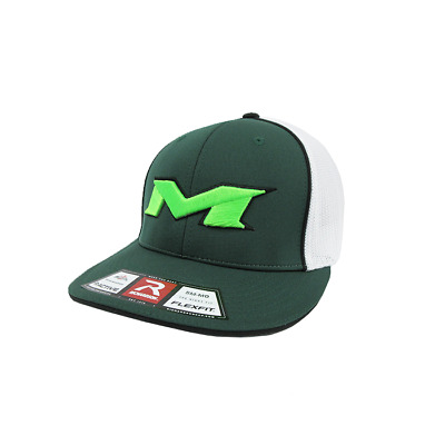 Miken Hat by Richardson (R165) Dark Green/White/Drk Grn/Black/Neon Green  sm/md