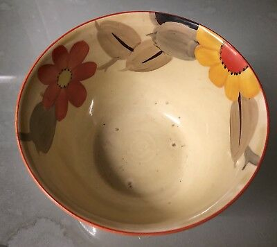 Gray's Art Deco Hand-Painted Susie Cooper    Bowl