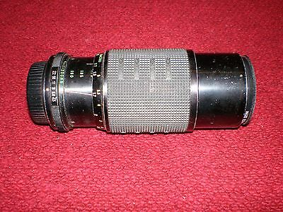 Rokinon Auto Zoom Multi Coated Macro 1:4.5 / 80-200mm Camera Lens Made in Japan