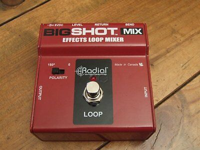 ** Radial Big Shot Effects Loop Mixer * Looper / Mixer fürs Effektboard **