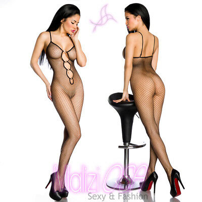 Bodystocking Catsuit Lingerie Intimo Donna Hot Nylon Tutina sexi BODY corpo Sexy