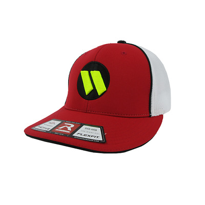 f9d01bf8ea5d0 WORTH HAT BY Richardson (R165) Red White Red Black Volt SM MD ...