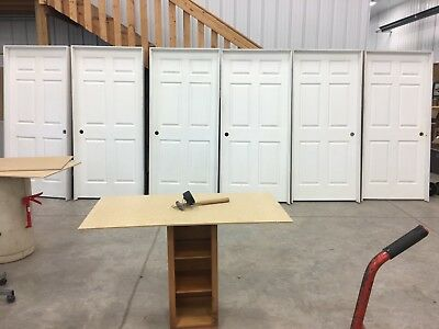 Lot of 6 pre-hung interior doors