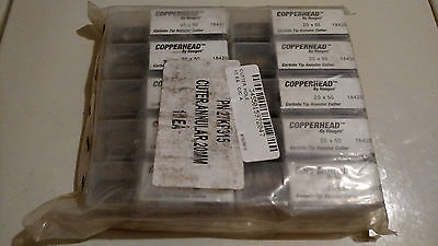 10 new Hougen Copperhead™ 20 X 50 Carbide Tip Annular Cutters 20mm x 50mm 18420
