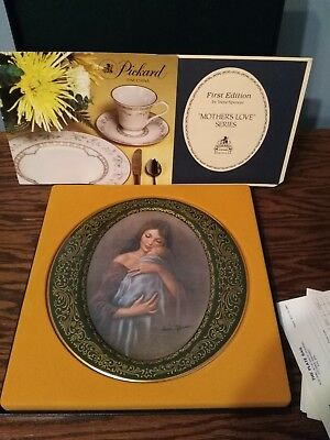 'Mothers Love Series First Edition' Pickard Collector's Plate, Free Shipping!
