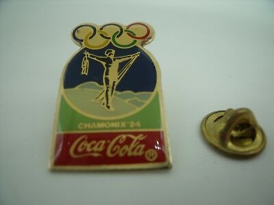 PIN'S PINS Pin Badge Jeux Olympiques JO OLYMPIC GAMES COCA COLA 1924 Chamonix