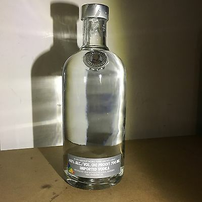 Absolut Vodka No Label  700ml 40% Vol.