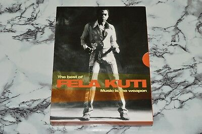 THE BEST OF Fela Kuti - Music Is The Weapon (2 DVD Discs + 1 CD Disc BOX  SET)