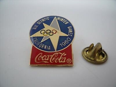 PIN'S PINS Pin Badge Jeux Olympiques JO OLYMPIC GAMES COCA COLA 1960 Californie