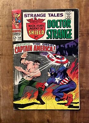 Strange Tales #159 (Aug 1967, Marvel)