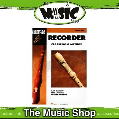 New Essential Elements Classroom Method: Recorder Student Book 1 - Tuition Book