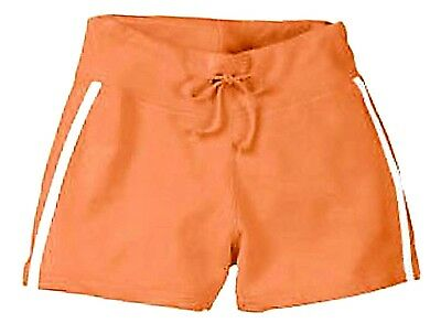 Wholesale Lot of 20 Hyp Desert Sunset Orange Terrycloth Sport Shorts Size Medium