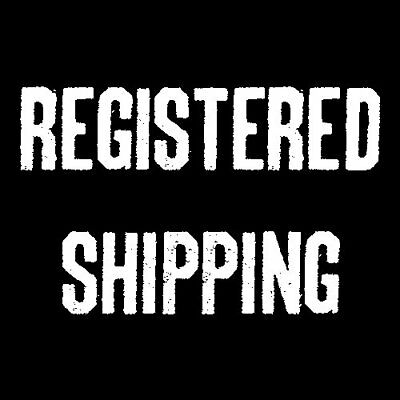 Registered Shipping Service Ticket for Single item Purchase