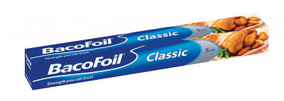 Bacofoil Classic Kitchen Catering Foil 300 x 5 Meter Fast Postage