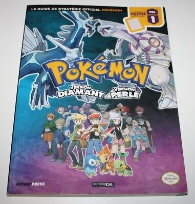 ++ le guide de stratégie officiel POKEMON version diamant et perle NINTENDO ++