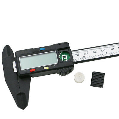 Plastic 150MM 6inch LCD Digital Electronic Vernier Caliper Gauge Micrometer GUT