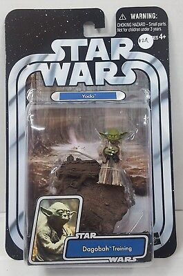 Star Wars The Original Trilogy Collection Yoda Dagobah Training Figure