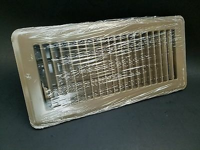 "Hart & Cooley 4""x10"" 4x10 4 x 10 Floor Register Diffuser Brown 421 Style New"