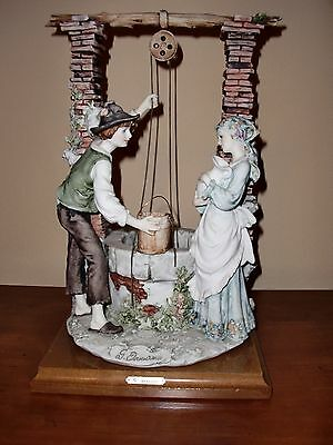 "ITALY""G.ARMANI""Figurine Statue THE WISHING WELL Florence Statue Figurine 0144C"